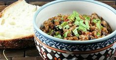 One-Pot Vegetarian Dinner: Cuban Rice and Beans - - Craving a comforting vegetarian dinner? Try this healthier version healthier version of the Cuban staple rice and beans from POPSUGAR user Everyone. One Pot Vegetarian, Vegetarian Dinners, Vegetarian Recipes, Healthy Recipes, Cuban Rice And Beans, Rice And Beans Recipe, Entree Recipes, Bean Recipes, Braised Pork Shoulder