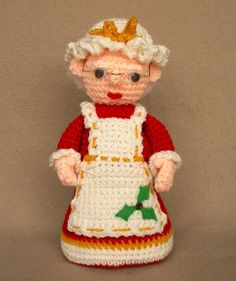 Mrs. Claus   Crochet Pattern por WolfDreamerOTH en Etsy, $5.00