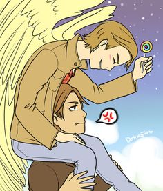 SPN: So How About That Weather by LuciferianRising on DeviantArt