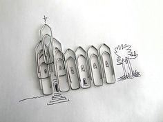 Armé de son stylo, cet artiste portugais métamorphose les objets du quotidien en des oeuvres inattendues