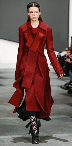 Runway Looks We Love: Proenza Schouler - Fall/Winter 2015 from #InStyle