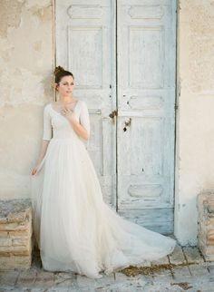 3-4-sleeves-full-cover-wedding-dress-cortana.jpg 659×900 Pixel