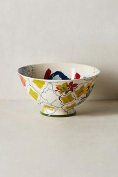 Anthropologie Sissinghurst Castle Cereal Bowl