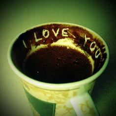 Coffee love....
