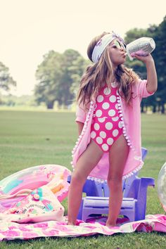 beachwear, summer style, swimsuit, coverup, kids clothing #esme #chasinivy