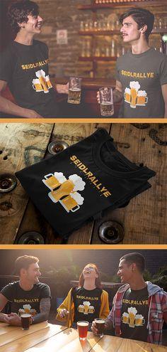 Stylisches T-Shirt, für alle die Bierkrug, Saufen, Seidlmarathon, Bier, Bierschaum, Geschenkidee, Halbe, großes Bier, Biermarathon, Seiterl, kleines Bier, Bierrallye, Geschenk, Krügl, Seidlrallye, Wiener, Krügerl, Bierglas, Rallye, Alkohol, Sauftour, Wien, Pivo, Marathon, Seidl lieben. Hervorragend designed, und mit schöner Grafik bedruckt. Großartige Geschenkidee für Männer, Frauen und Kinder sowie Mütter, Väter, Brüder, Schwestern, Freunde, Freundin, Onkel, Tante, und Opas welche Bier… Shirt Designs, T Shirts For Women, Fashion, Beautiful Artwork, Saint Name Day, Man Women, Alcohol, Beer, Gifts