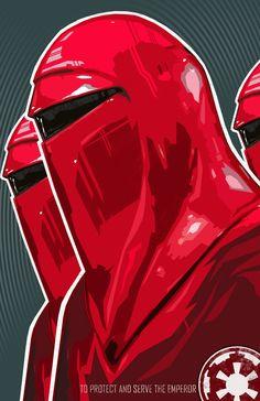 Star Wars Royal Guard Imperial Guard star wars by bigbadrobot