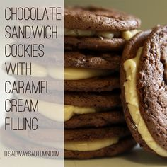 it's always autumn - itsalwaysautumn - cook: welcome to the dark {chocolate} side - the caramel cookie edition