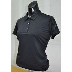 Freshen your wardrobe with this new arrival at From the Red Tees ladies fashion Golf clothing!  Short Sleeve Blac...    http://www.fromtheredtees.net/products/short-sleeve-black-button-polo?utm_campaign=social_autopilot&utm_source=pin&utm_medium=pin