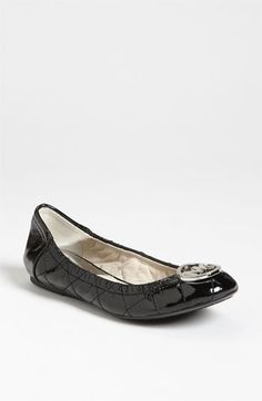 Michael Kors flats.  I tried them on today and they're so comfortable!