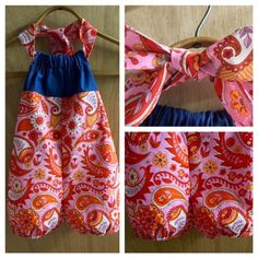Spring/Summer Romper, size 3t by SewMeems on Etsy
