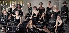 'Vanity Fair' dropped its 2016 Hollywood issue cover featuring Jennifer Lawrence, Jane Fonda, Viola Davis and many more — see the Annie Leibovitz–shot cover here Charlotte Rampling, Helen Mirren, Rachel Weisz, Cate Blanchett, Jennifer Lawrence, Vanity Fair Hollywood Issue, In Hollywood, Hollywood Fashion, Hollywood Actresses