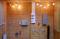electrian work in a shed, boxes has been setup in strucktur and some lightballs has been put into use, Lystberg, #El arbejd, #Elektrikere herlev, #Elektrikere i herlev, #Elektrikere Søborg,  #Elektriker