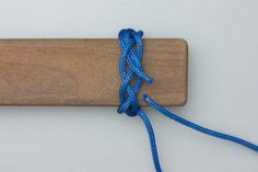 turk's head (woggle) tutorial with step-by-step photos
