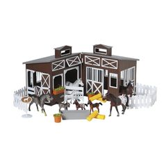 Melissa /& Doug Horse Family Toy Game Kids Play Gift Appaloosa Horses With Velve