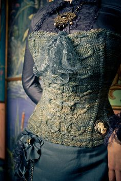 Ravelry: Quadrille Overbust Corset pattern by Valerie DiPietro