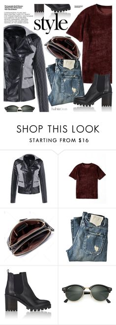 """Casual Friday"" by pokadoll ❤ liked on Polyvore featuring KING, Barneys New York, Mercedes-Benz, Hedi Slimane, Ray-Ban, polyvoreeditorial and polyvoreset"