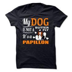 Papillon T-Shirts, Hoodies. SHOPPING NOW ==► https://www.sunfrog.com/No-Category/Papillon.html?id=41382