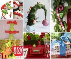 The Grinch decorating ideas