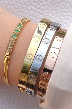 Cartier Love Bracelet #MissSusyRamos