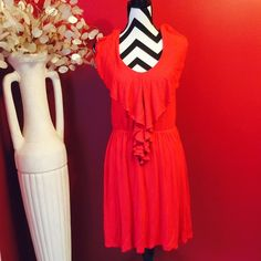Adorable red dress In mint condition no flaws and very clean Dresses Midi