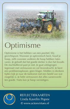 deugdenkaart uitgeverij actonvirtues Optimisme