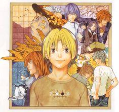 Hikaru no Go Manga Poster