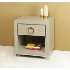 Interlude Home Stella Bedside Chest 129068