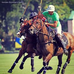 The winners of the matches of the #polo tournament Conde de la Maza: Los Dragones and Bahía Limón