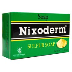 Nixoderm Sulfur Soap 3.5oz