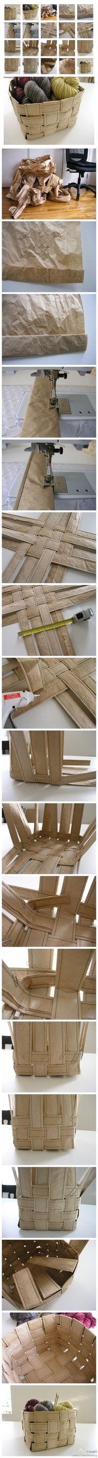 DIY multi-purpose basket  #diy #crafts