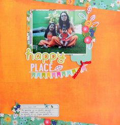"layout scrapbook SCh: Reto #26 ""Mi espacio"""