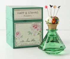 Happ & Stahns Eau de Parfum from Anthropologie. Saved to Perfume. Shop more products from Anthropologie on Wanelo. Perfume Packaging, Beauty Packaging, Pretty Packaging, Vintage Packaging, Packaging Box Design, Product Packaging, Perfume Diesel, Rosa Rose, Beautiful Perfume