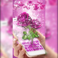 Many say the #rose is the most #beautiful #flower . We can't decide upon that, but the rose is most certainly the most #RomanticGift for a #lover . Check out our new #phonekeyboard theme, Purple Rose Keyboard Theme 2018, made for all you romantics out there. The #purple rose keyboard combines some of the most beautiful tones of colors and is full of meaning, in case you don't want that lover #sparkle burning inside you to go out.