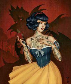 Santa Tatuada: Ilustraçôes de Glenn Arthur.
