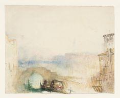 Joseph William Mallord Turner Venice | Joseph Mallord William Turner, Venice: Ponte Ca' di Dio, with the Doge ...