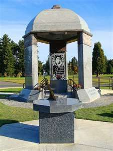 Another local legend's grave that is a frequently visited attraction. Jimi Hendrix Grave Site, Greenwood Memorial Park,