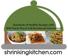 Hundreds of Healthy Recipes with WW Points Plus and Nutritional Info Already Calculated! #wwpp #calories #recipes