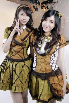 Jessica Veranda, Shinta Naomi #JKT48 #AKB48