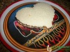 Heart Shaped Sandwich! Adorable for Valentine's Day!