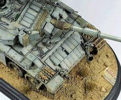 """ IDF Shot Kal Gimel 1982 "" in Grey Sand "" By artist modeler Christian Blüm. in scale 1/35"