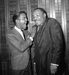 """Sammy Davis Jr. was awarded the Spingarn Medal for his """"superb and many-faceted talent,"""" along with his contributions to the civil rights movement (December 14, 1968)."""