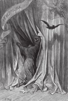 The Raven, Gustave Dore
