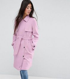 01c11f3e94a Buy Hot Pink Asos petite Raincoat for woman at best price. Compare Coats  prices from online stores like Asos - Wossel Global