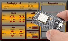 TerraControl - with NodeMCU webserver