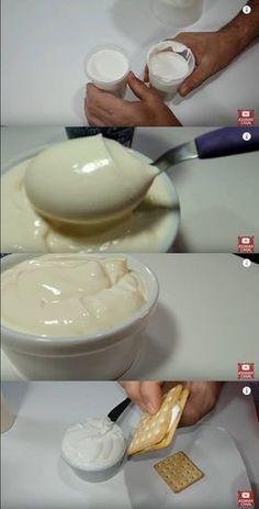 Requeijão Cremosos com 3 Ingredientes Testando a receita #requeijão #requeijçaosuperfacil #queijo