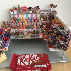 "16 Likes, 3 Comments - Janet Amiga (@janetamiga) on Instagram: ""CANDY SHOP IS READY!! #candyshop#candies#dollhouse#miniature#kitkat#milkyway#sweet#pollimerclay…"""