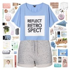 """""""yeah-bunny 15"""" by deep-breaths ❤ liked on Polyvore featuring Topshop, Monki, CB2, Pré de Provence, själ, adidas Originals, Kiehl's, H2O+, Neutrogena and Horace"""