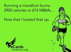 Running humor-- looks like ill be eating the 674 m