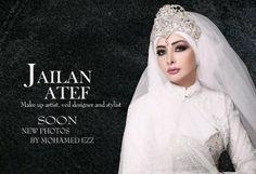 Jailan Atef Tesettürlü Gelin Başı Modelleri 2011 (6)
